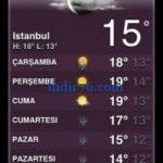 Hava Durumu (iOS)