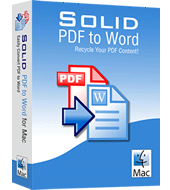Solid PDF to Word 10.0